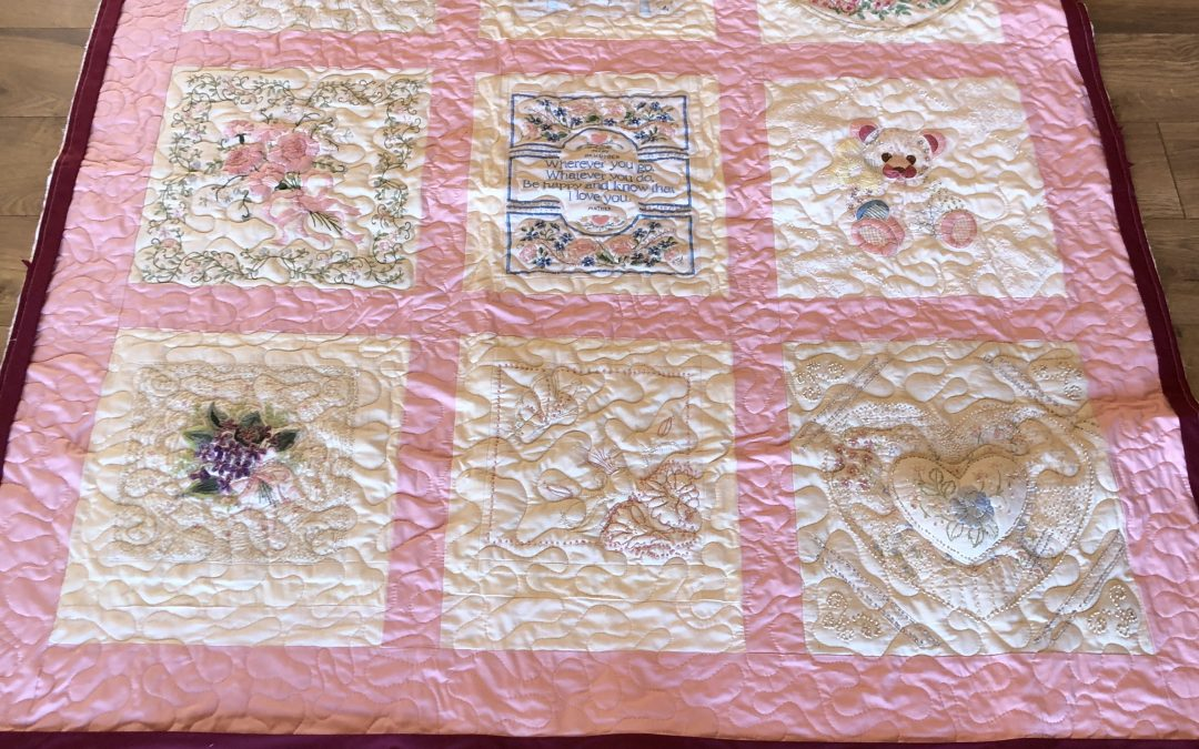 Embroidered Pillow Fronts