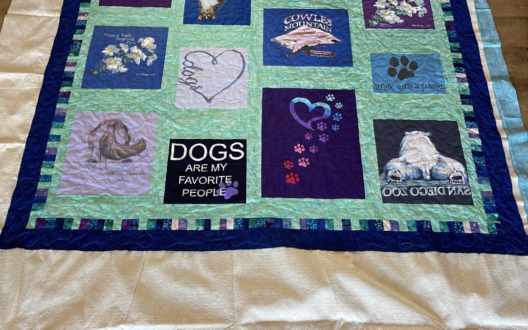 Doggy T-Shirt Quilt
