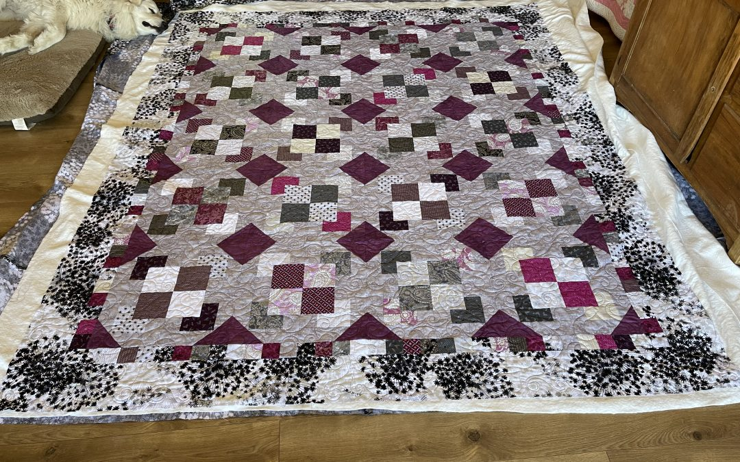 Sleeping Cat Creations, Mystery quilt