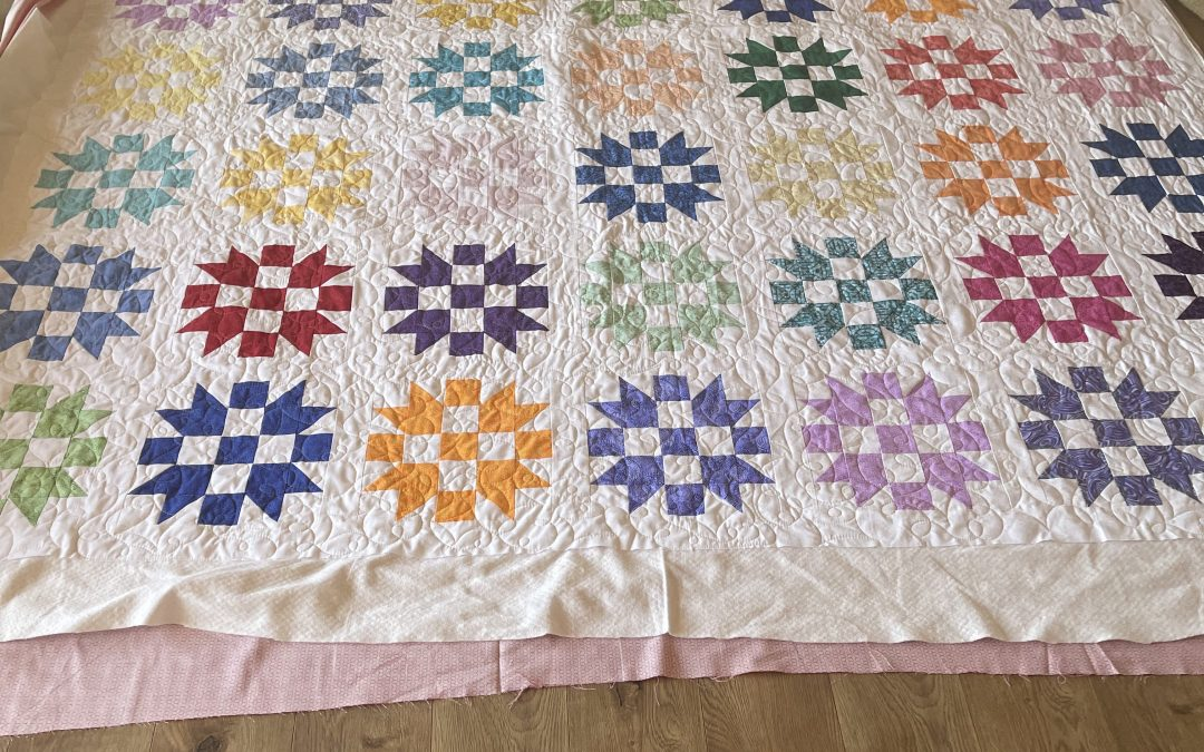 """Linda's """"covid quilts"""""""