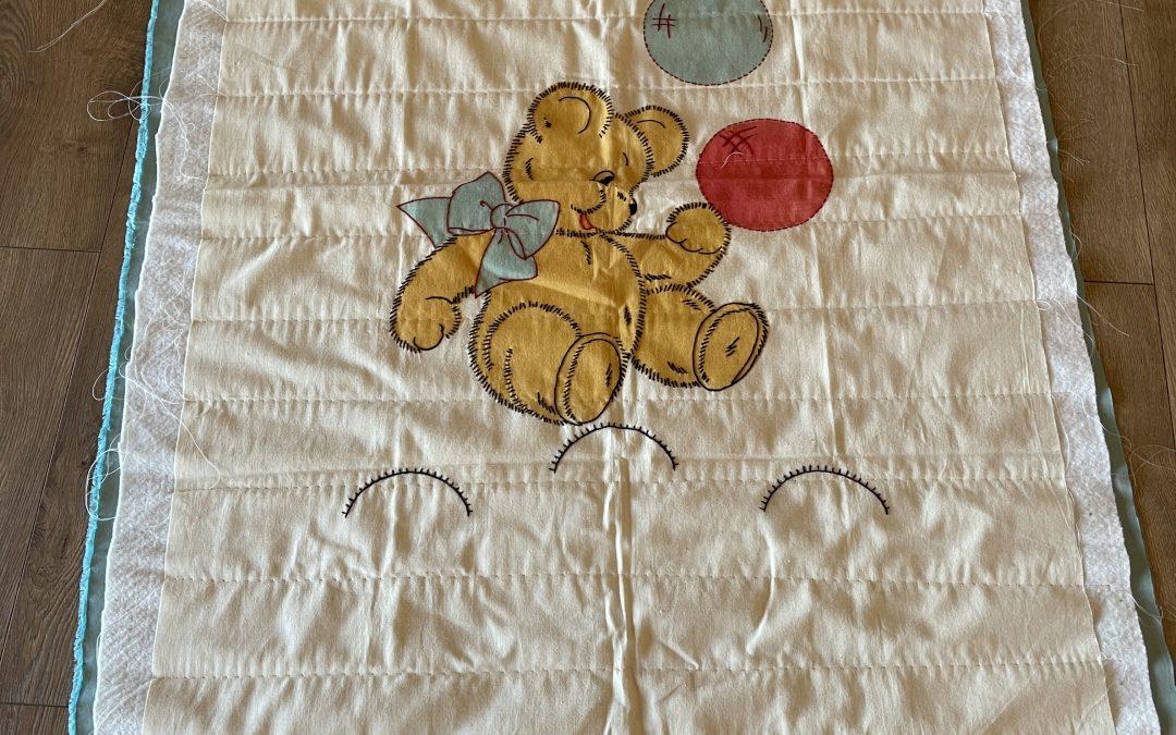 Teddy Bear With Bubbles